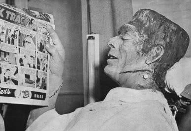 Glenn Strange Frankenstein Funnies Dick Tracy