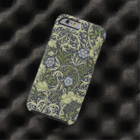 William Morris Seaweed Pattern Floral Vintage Art Tough iPhone 6 Case