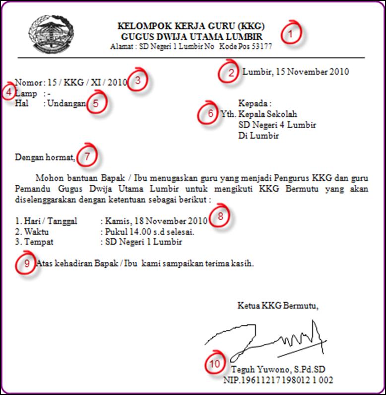 Surat Undangan Resmi Untuk Kepala Sekolah Dalam Bahasa
