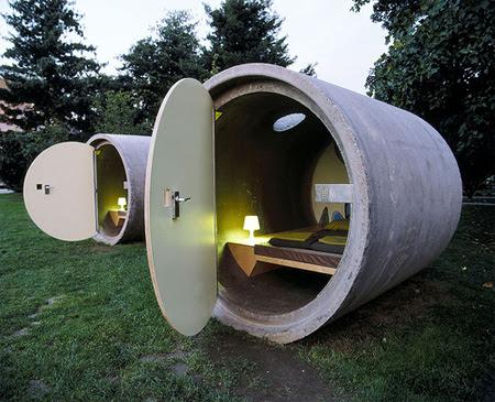Drain Pipe Hotel in Austria