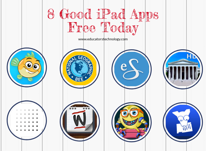 8 Good iPad Apps Free Today