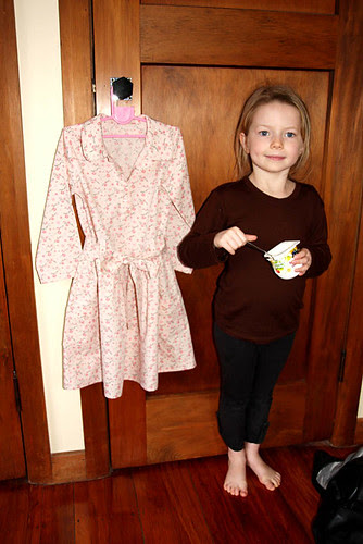 Jump rope dress and Hazel