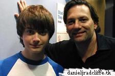 Daniel at the Abbey Road Studios with Matthew Dela Pola