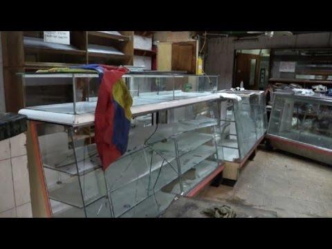 Saqueadores Aprovechan Caos Por Protestas En Venezuela