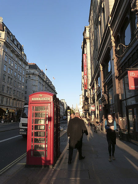telephone on the Strand