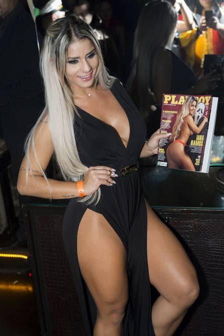 Iara Ramos: figurino provocante para lançar ensaio nu