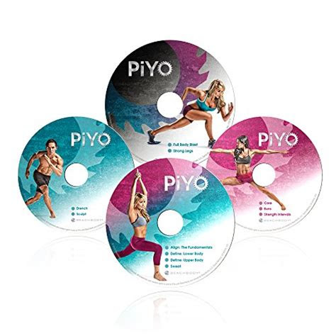 chalene johnsons piyo deluxe kit dvd workout