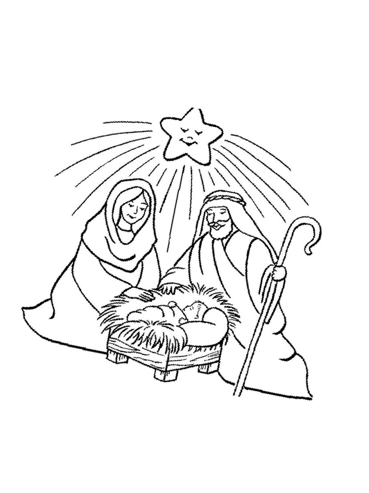 ausmalbild weihnachten zum ausdrucken