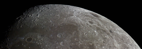 Northern region of the Moon - 110314 by Mick Hyde