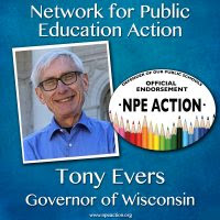 NPE Action Endorses Tony Evers for Wisconsin Governor
