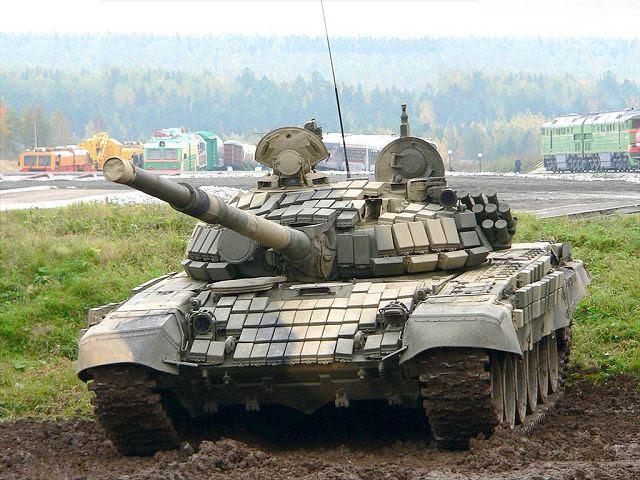 Más de 50 modernizados T-72 tanques principales de batalla se pondrán en servicio con brigadas de infantería mecanizada del Ejército 35, desplegados en Extremo Oriente de Rusia, a finales de 2013, un portavoz del Distrito Militar del Este, dijo Miércoles, 06 de noviembre 2013 .