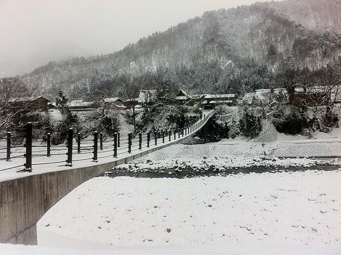 Deai bridge at Shirakawa-go