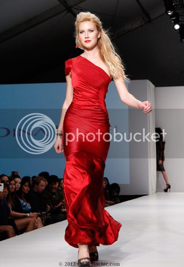 Dina Bar-el fashion show, L.A. Fashion Weekend