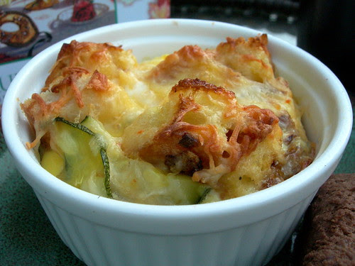 Vegetable Egg Strata