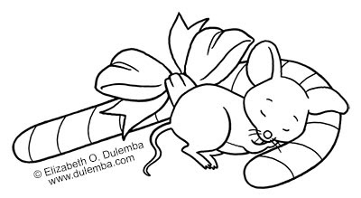 mouse people coloring pages - photo#12
