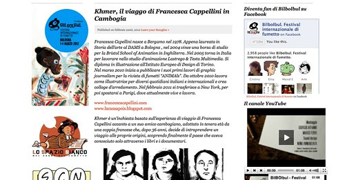 Interview for the BilBolBul Festival by la casa a pois