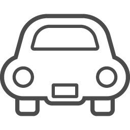 かわいい車の線画アイコン アイコン素材ダウンロードサイトicooon