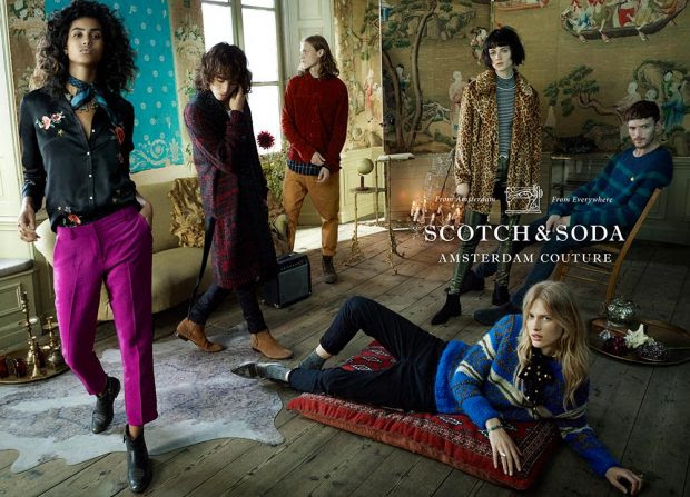 Scotch and Soda AW16 Campaign