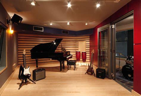 recording studio haus haus studio musikzimmer ideen