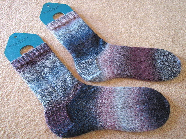 Plain vanilla socks no.10  (2)
