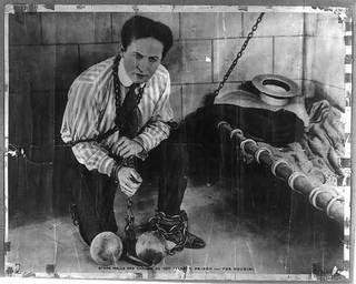 Master illusionist and escape artist Harry Houdini.
