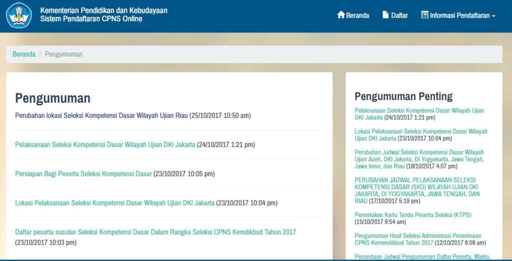 Lokasi Dan Jadwal Tes Skd Cpns Kemdikbud Wilayah Ujian Jakarta Tipssehatcantik Com