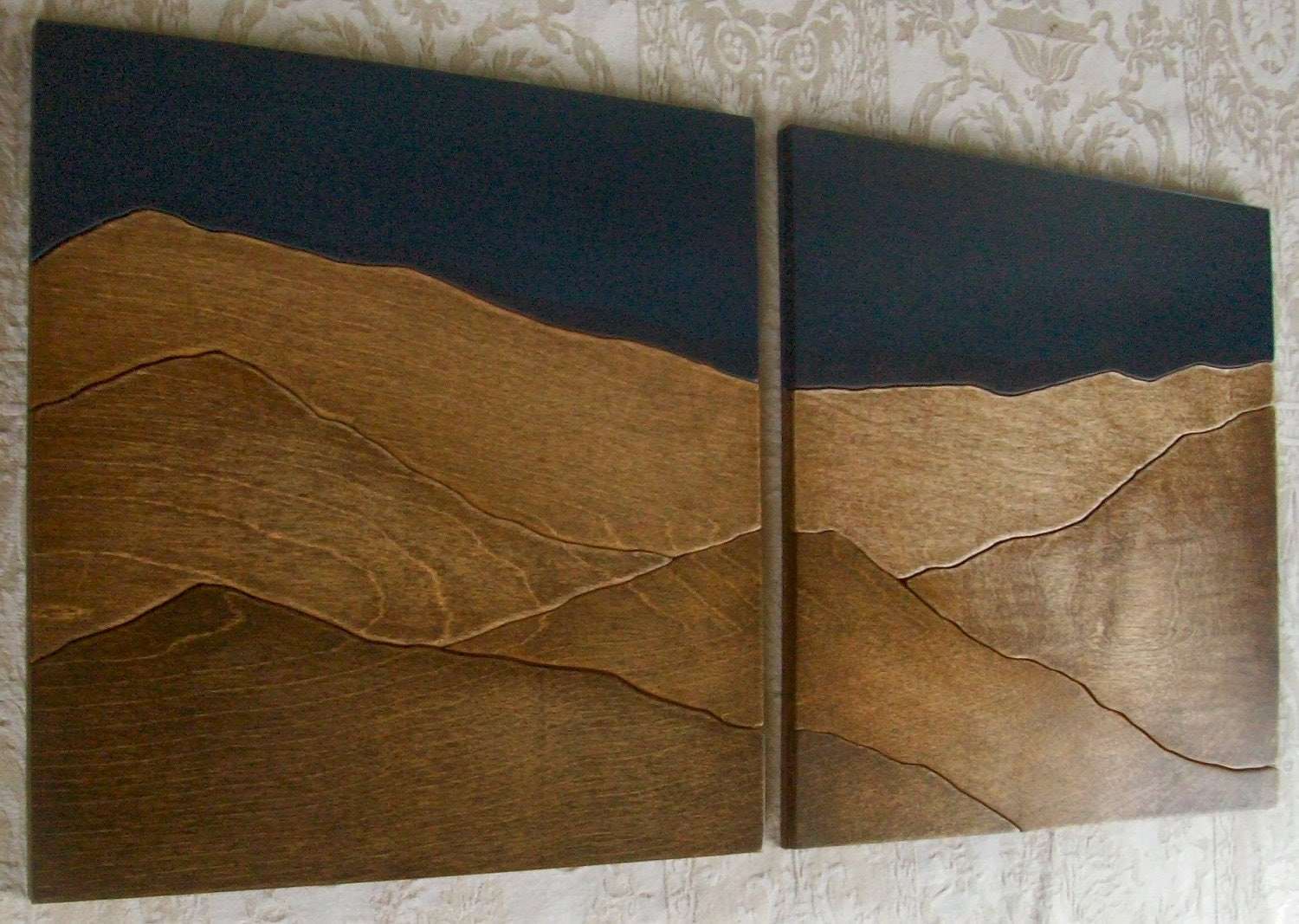 Handmade Wood Wall Art and Home Decor by elwoodworks on Etsy
