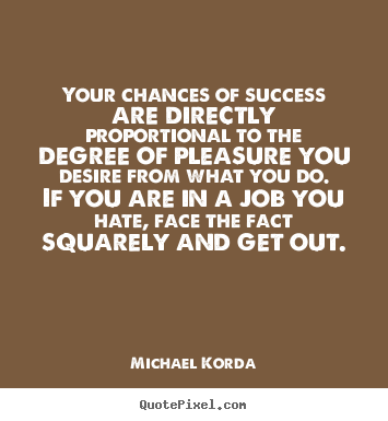 Success Quotes Your Chances Of Success Are Directly Proportional To