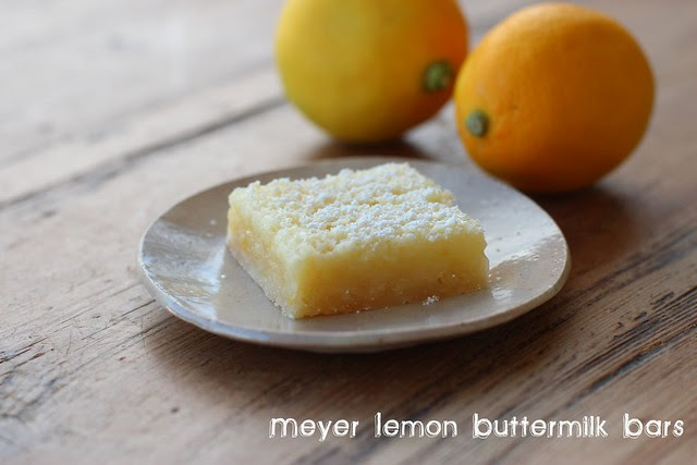 Meyer Lemon Buttermilk Bars - Williams Sonoma