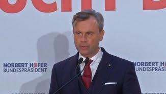 El candidat de l'extrema dreta, Norbert Hofer