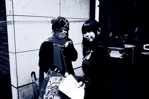 「早稲田祭2011」 More Manga Research Club people