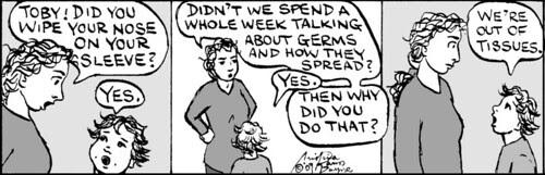 Home Spun comic strip #396