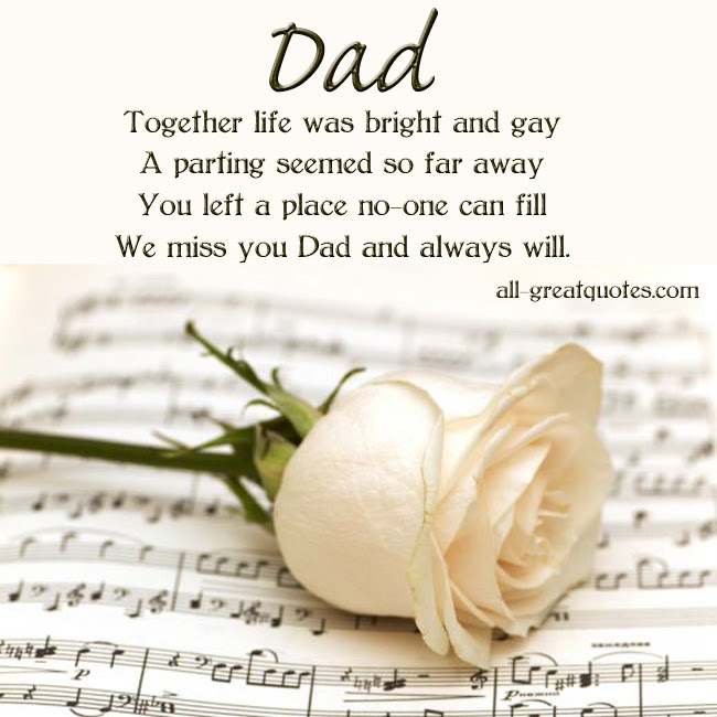 Quotes About Memory Of Dad 41 Quotes
