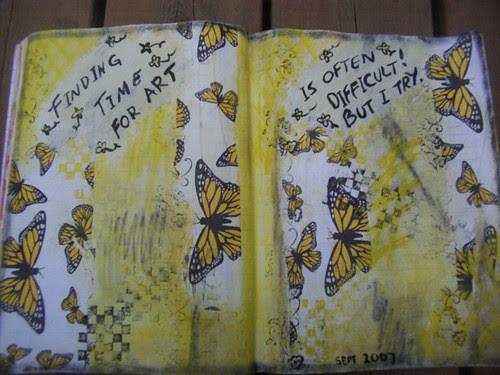 Sept Art Journal