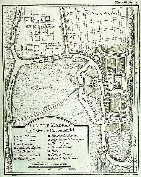 File:Plan de Madras 1764 Bellin.jpg