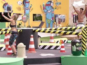 André desiste e Fernanda vira líder (Foto: BBB / TVGlobo)