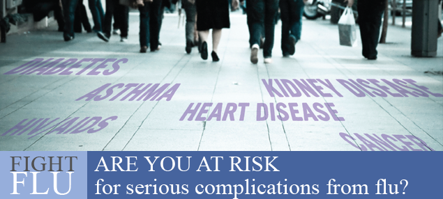 Are you at risk for serious complications for serious complications from Flu?