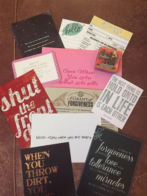 10 Open When letters, Best Friend, Gift 4 Boyfriend, For
