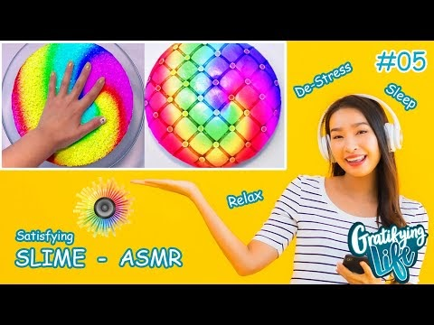Satisfying and Relaxing Slime Videos | ASMR | Oddly Satisfying video #5
