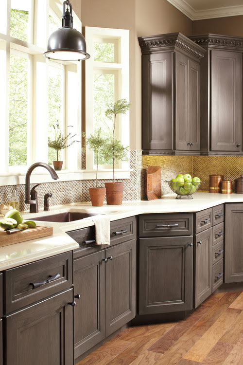 What are the cabinets painted with? Paint? Gel Stain? What ...