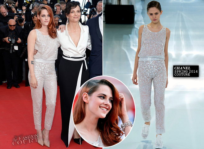 Kristen Stewart in Chanel Couture   'Clouds of Sils Maria' Premiere - 2014 Cannes Film Festival