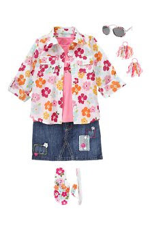 gymboree floral reef