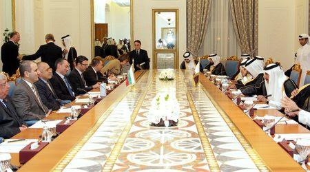 В Катар членовете на българската делегация разговаряха основно с официални лица