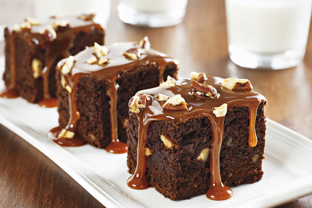 Chocolate-Caramel Brownies Image 1