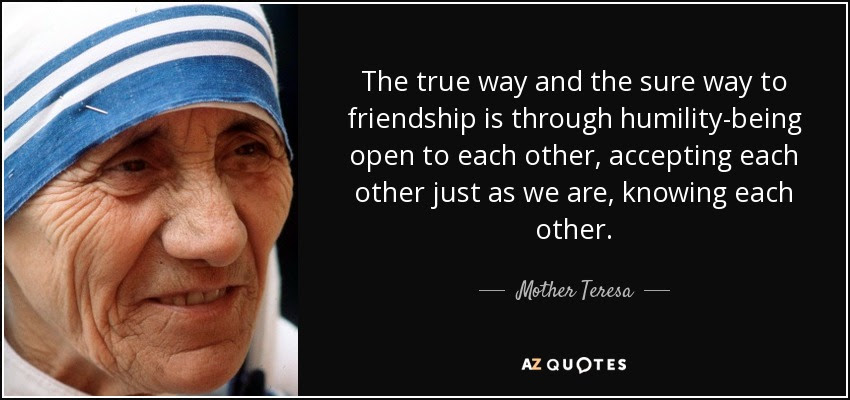 Humility Mother Teresa Quotes. QuotesGram