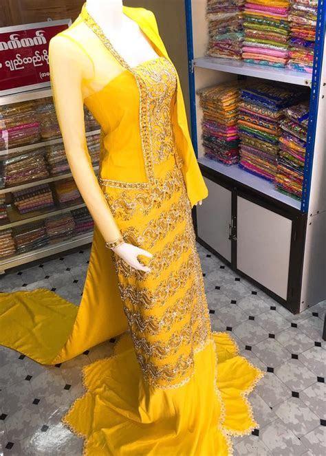 Myanmar Wedding Dress Design 2017   Wedding