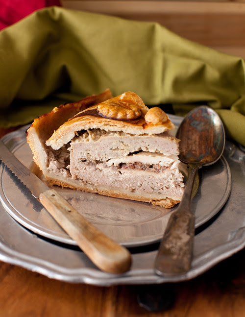 Chicken and Red Current Pie 4