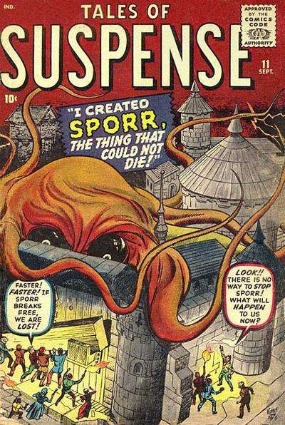 Image result for tales of suspense 16