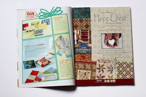 American Patchwork & Quilting - December 2013 Issue by Jeni Baker
