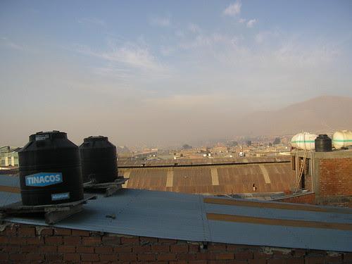 Oruro despuesde la Noche de San Juan